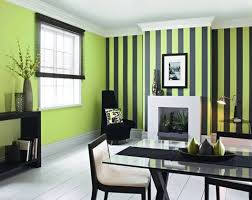 Small Picture Creative pinstripe painted on contrast wall Color My Walls