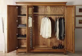 stunning amazing ideas clothing armoire furniture wardrobe mirrors for wooden wardrobe closet pic