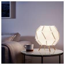 Ikea Sjöpenna Table Lamp Creates A Soft Cozy Mood Light In