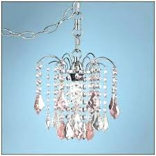 chandeliers plug in swag lighting small chandelier mini crystal