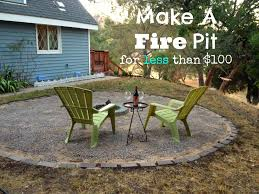extraordinary pea gravel around fire pit pictures design inspiration