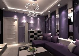 Small Picture Purple Living Room
