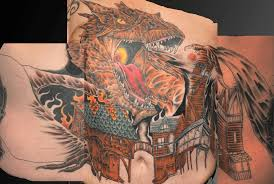 Smaug The Tyrannical Cris Tattoo