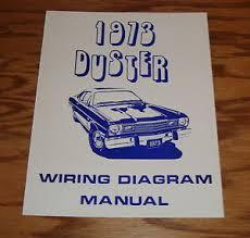 1973 plymouth duster wiring diagram manual 73 ebay 1973 Plymouth Duster Air Conditioning Diagram at 1973 Plymouth Duster Wiring Diagram