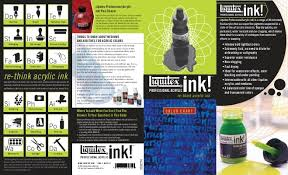 Ink Color Chart Liquitex