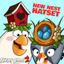 Angry Birds 2 - Nothing says fashion like a little nest on...
