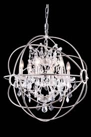 chandelier fascinating crystal globe chandelier crystal chandeliers round silver iron chandeliers with crystal and