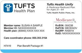 Unify Your Member Id Card Plan Tufts Health