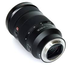 sony 24 70 gm. sony fe 24 70mm f2,8 rear oblique view 70 gm m