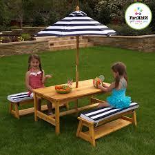 calm bench set s image engine kidkraft table kidkraft outdoor table bench set cushions primary benches