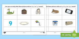 The technical term for two letters creating one sound is digraph. Split Digraph Worksheet English Resources Teacher Made