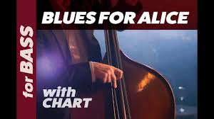 Blues For Alice Backing Track For Bass