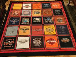Harley Davidson T-shirt quilt. | Quilts I've made. | Pinterest ... & Harley Davidson T-shirt quilt. Adamdwight.com