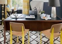 Eclectic home office alison Bedroom Beating Boredom Dullness And Sense Of Monotony Can Make The Home Office Lot More Fun And This Actually Helps Your Work Productivity As Well Decoist Energize Your Workspace 30 Home Offices With Yellow Radiance