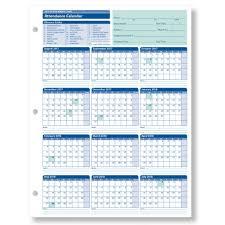 Absentee Calendar 2018 Employee Attendance Tracking Calendar 2018 Calendar Template