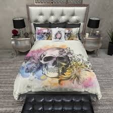 33 sweet inspiration skull bedding king queen size designs uk sets california quiksilver super