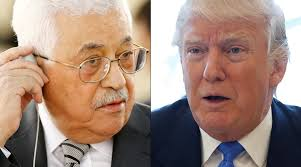 Image result for picture trump and abbas