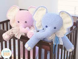 Bernat Crochet Patterns Beauteous Josefina And Jeffery Big Amigurumi Elephants PDF Crochet Pattern