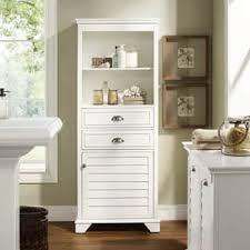 modern bathroom storage cabinets. Lydia Tall Cabinet- White Modern Bathroom Storage Cabinets E