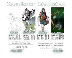 commission sheet making your commission sheet by bringbackfairprices on deviantart