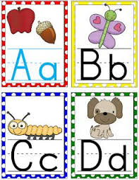 alphabet picture cards free alphabet wall cards alphabet activities classroom