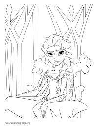 Small Picture elsa castle coloring page Google Search Art Projects