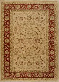 home dynamix area rugs antiqua rug 7709 139 cream red traditional rugs area rugs by style free at powererusa com