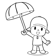 Small Picture Dibujo De Pocoyo Para Colorear AZ Dibujos para colorear