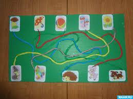 Ориентировка в пространстве Воспитателям детских садов школьным  Настольная игра для развития мелкой моторики пальцев рук и ориентировки в пространстве Цветные дорожки