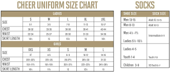 Alleson Cheer Size Chart Augusta Sizing Chart Hit A Double