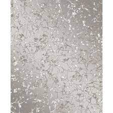 Leaves Wallpaper Grey Wallpaper ...