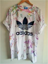 diy grunge t shirt vintage acid wash tie dye adidas originals retro rave festival