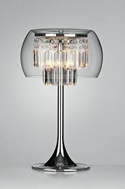 lamps table lamp glass lampshade chic design