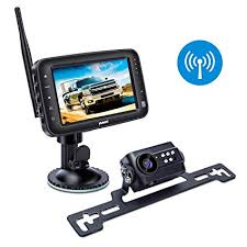 Amazon.com: Wireless Backup Camera System, IP69k Waterproof Wireless ...