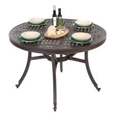 medium round garden table