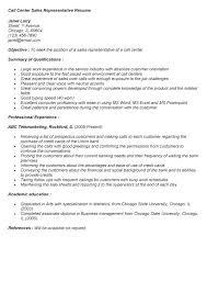Call Center Representative Resume Call Center Representative Resume