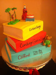 Books All Edible Made Out Of Cake And Fondant Corduroy Bear