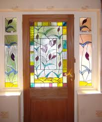 full image for trendy colors stained glass front door 137 stained glass front door image of