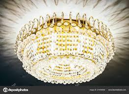Schöne Luxus Kristall Kronleuchter Dekoration Interieur Des