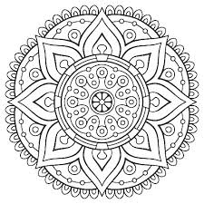 Flower Coloring Pages For Adults Printable Coloring Pages Detail