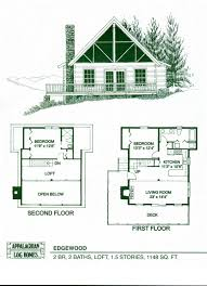 Sturgeon Bay Mountain Cabin Home Plan 036D0045  House Plans And MoreVacation Home Floor Plans