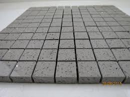 black quartz sparkling mirror fleck wall floor kitchen bathroom tiles grey quartz mosaic sparkling tiles for