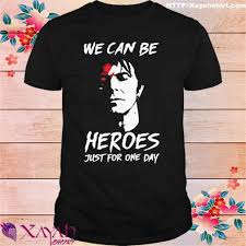 David Bowie we can be Heroes just for ...