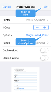 How To Print From Iphone And Ipad Printix User Manual 1