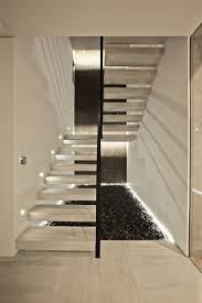 Outstanding Modern Staircases Glass Pictures Inspiration