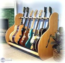 diy multiple guitar stand racks session deluxe rack ukulele tutorial diy multiple guitar stand