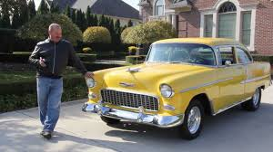 1955 Chevy Bel Air Classic Muscle Car for Sale in MI Vanguard ...
