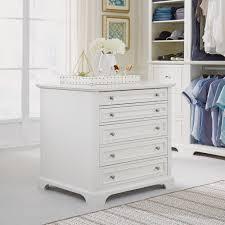 styles of bedroom furniture. Naples 5-Drawer White Closet Island Styles Of Bedroom Furniture