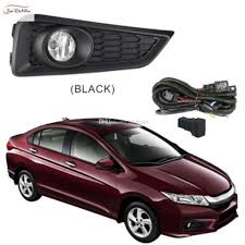 Car Fog Lights For Honda City 20142016 Clear Halogen Bulb Front Fog Lights Bumper Lamps Kit