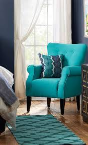 ... Blue Living Room Chairs Modern Armchairs With Blue Simple Chair And Blue  Patterned Pillow